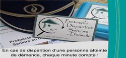26/10 - Le Protocole Disparition Seniors au domicile, pensez-y !